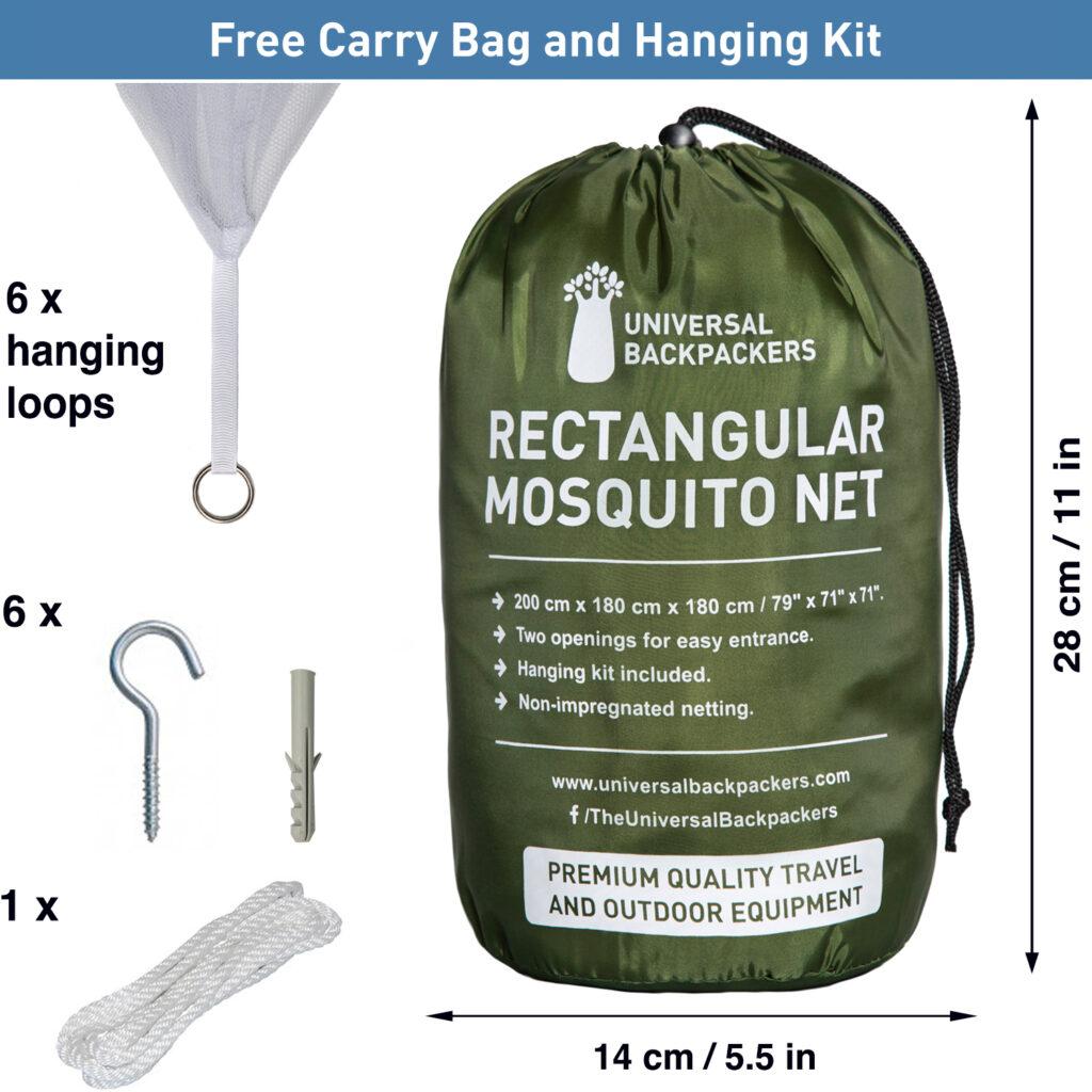 5. Carry bag