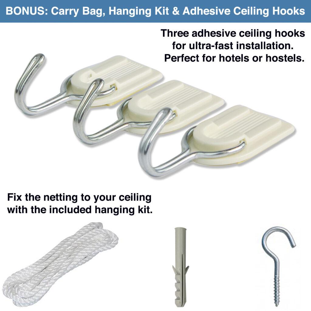 7. hanging kit